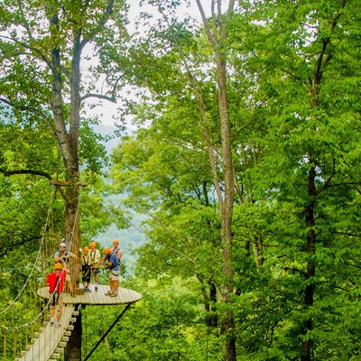 The Gorge Zipline Canopy Adventures